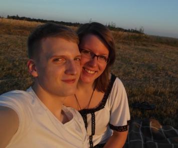 Theo und ich in unserem ersten gemeinsamen Sommer 2012